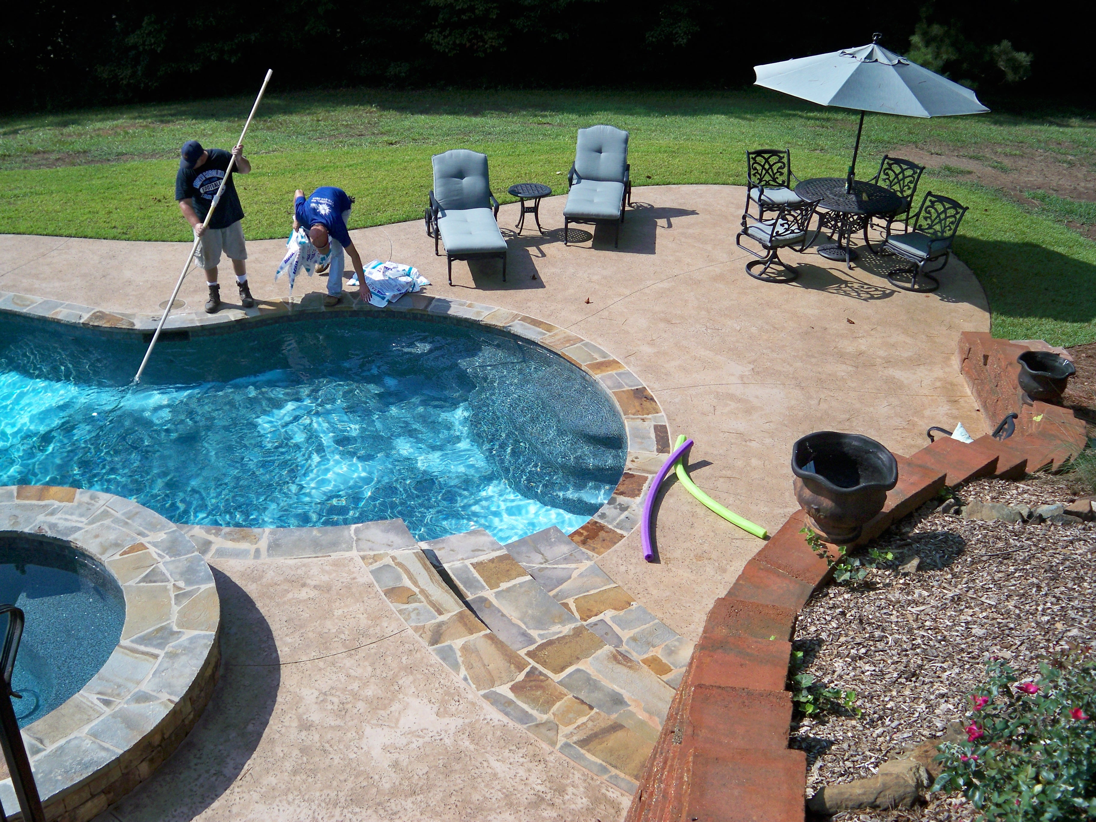 Pool Maintenance Cleaning Services Carrollton Ga